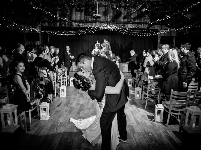 Adam and Erin's wedding in Canmore, Alberta 25