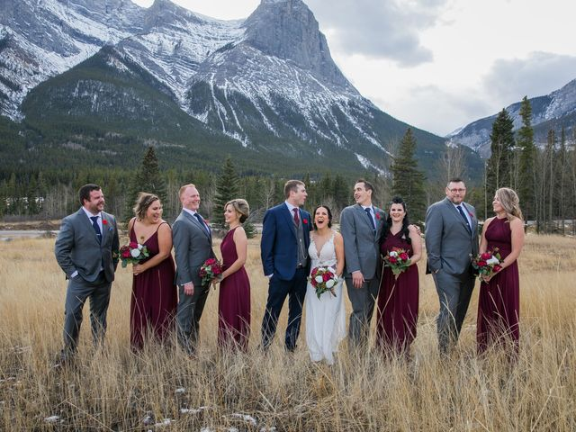 Adam and Erin's wedding in Canmore, Alberta 2