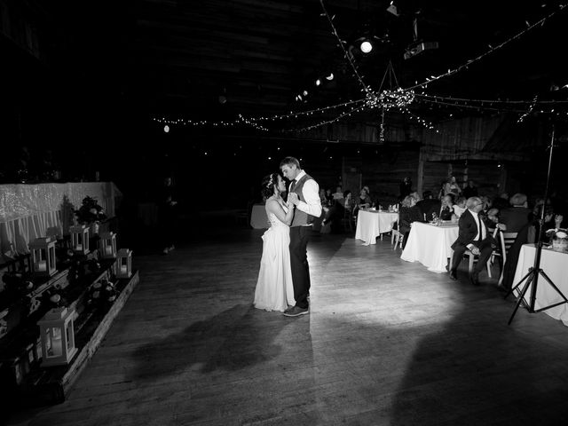 Adam and Erin's wedding in Canmore, Alberta 37