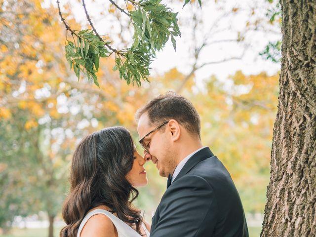 Daniyil  and Lina 's wedding in Toronto, Ontario 5