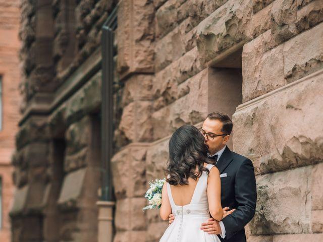 Daniyil  and Lina 's wedding in Toronto, Ontario 10
