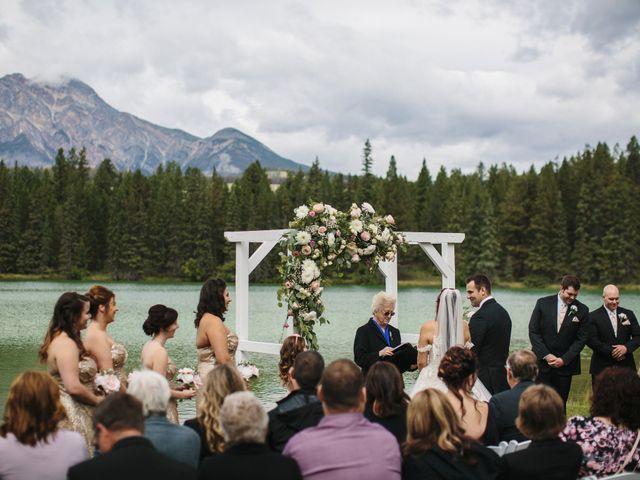 Beau and Miranda's wedding in Jasper, Alberta 3