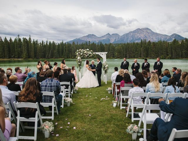 Beau and Miranda's wedding in Jasper, Alberta 4