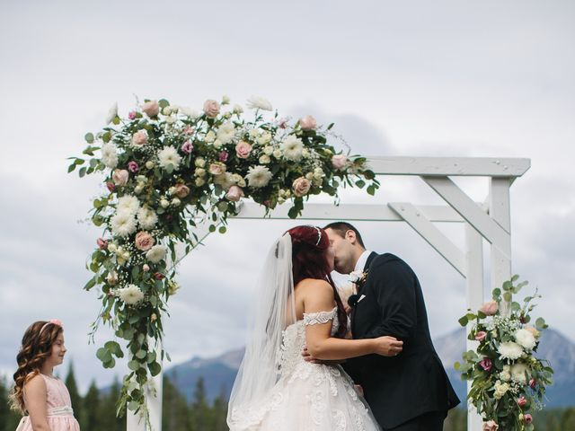 Beau and Miranda's wedding in Jasper, Alberta 7
