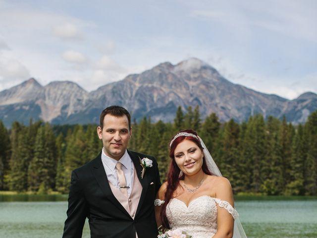 Beau and Miranda's wedding in Jasper, Alberta 8