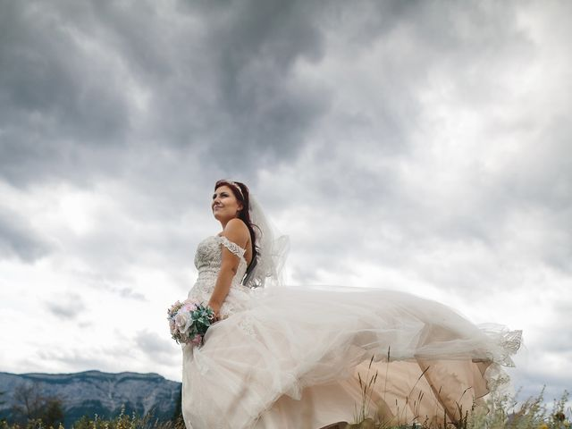 Beau and Miranda's wedding in Jasper, Alberta 11