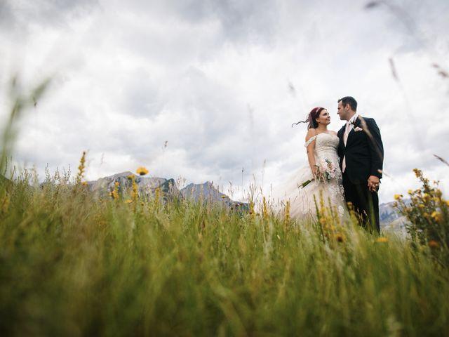 Beau and Miranda's wedding in Jasper, Alberta 12