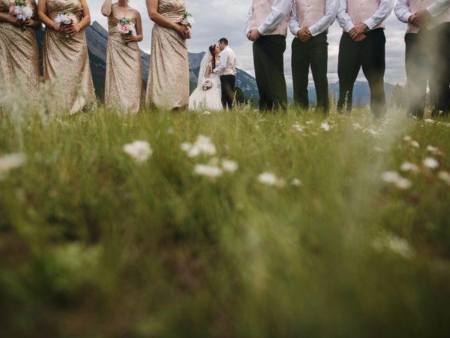 Beau and Miranda's wedding in Jasper, Alberta 13