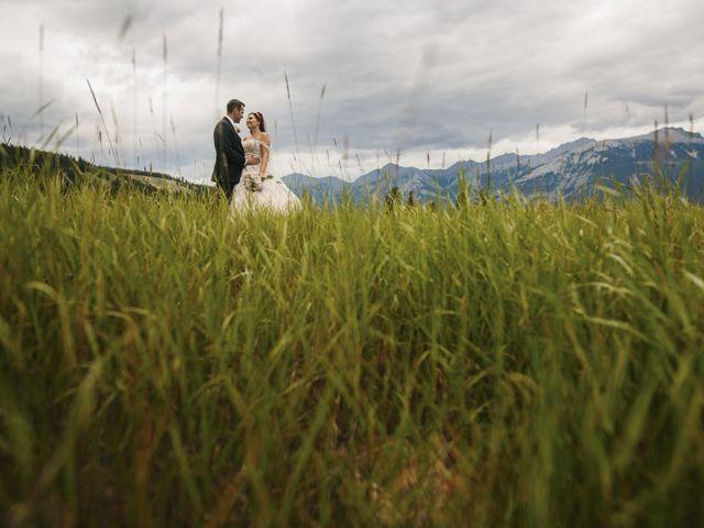 Beau and Miranda's wedding in Jasper, Alberta 15