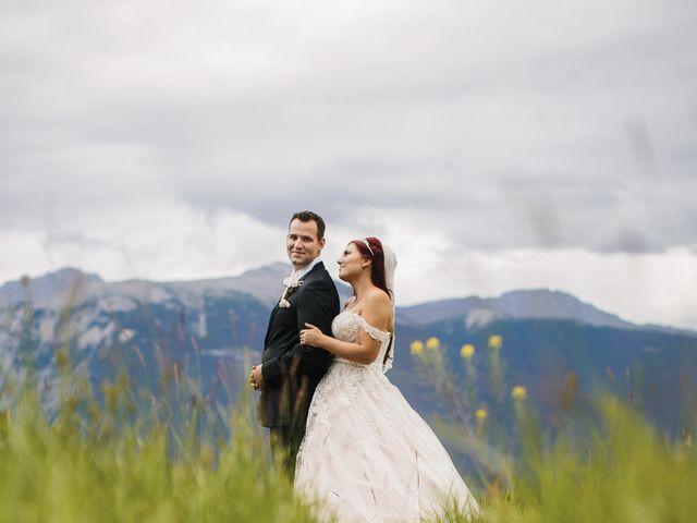 Beau and Miranda's wedding in Jasper, Alberta 16