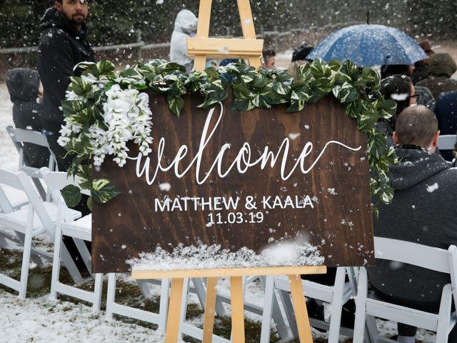 Mathew and Kaala's wedding in Canmore, Alberta 8