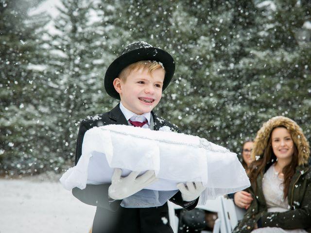 Mathew and Kaala's wedding in Canmore, Alberta 9