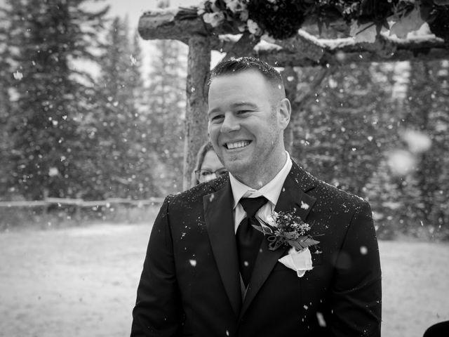 Mathew and Kaala's wedding in Canmore, Alberta 10