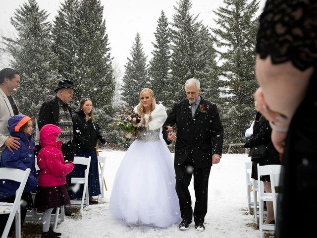 Mathew and Kaala's wedding in Canmore, Alberta 11