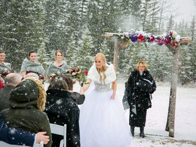 Mathew and Kaala's wedding in Canmore, Alberta 12