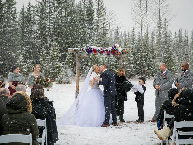 Mathew and Kaala's wedding in Canmore, Alberta 13
