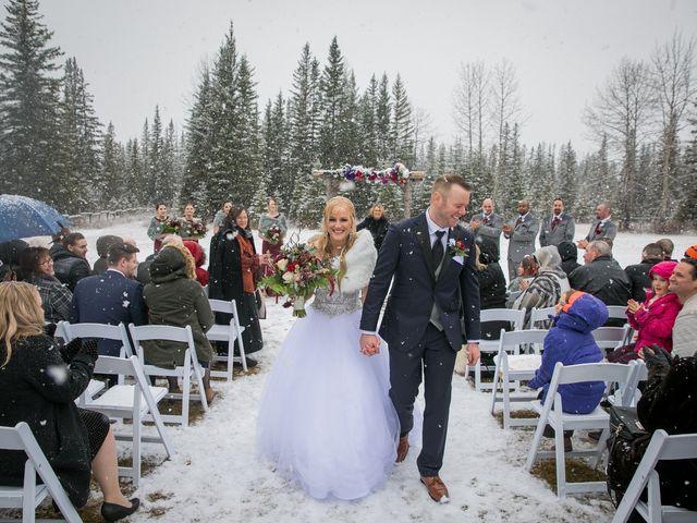 Mathew and Kaala's wedding in Canmore, Alberta 14