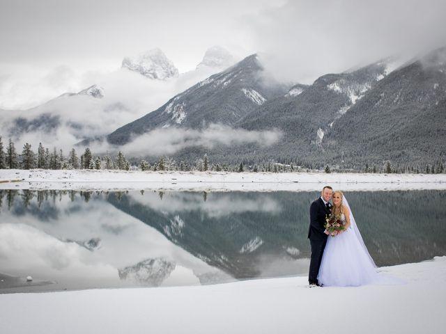 Mathew and Kaala's wedding in Canmore, Alberta 15