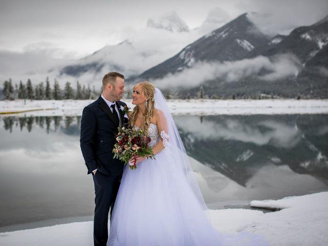 Mathew and Kaala's wedding in Canmore, Alberta 1