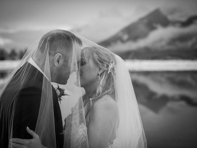 Mathew and Kaala's wedding in Canmore, Alberta 16