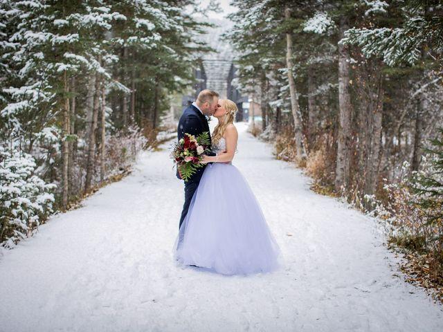 Mathew and Kaala's wedding in Canmore, Alberta 17