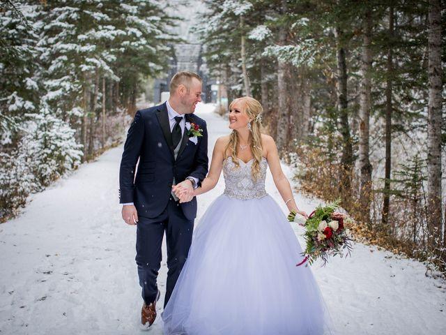 Mathew and Kaala's wedding in Canmore, Alberta 18