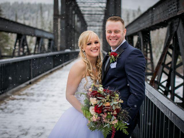 Mathew and Kaala's wedding in Canmore, Alberta 19
