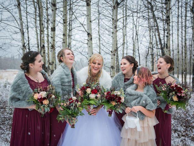 Mathew and Kaala's wedding in Canmore, Alberta 21