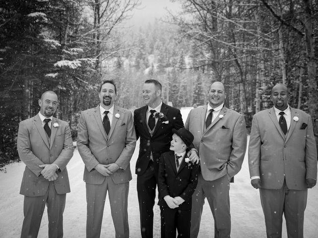 Mathew and Kaala's wedding in Canmore, Alberta 22