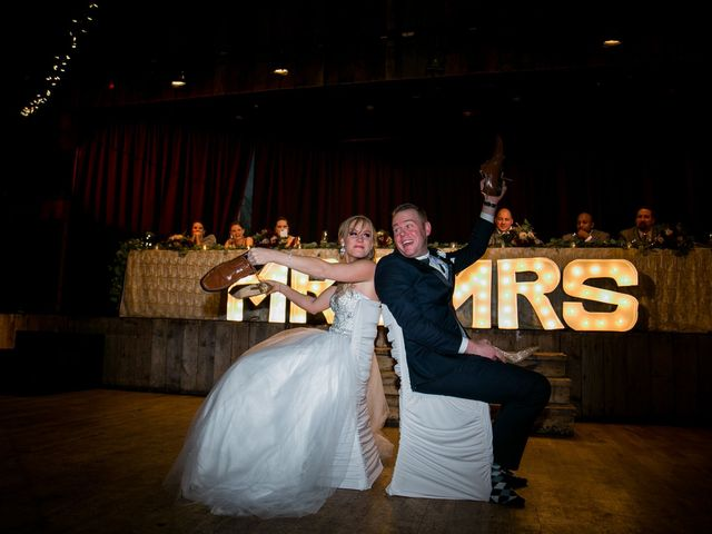 Mathew and Kaala's wedding in Canmore, Alberta 2