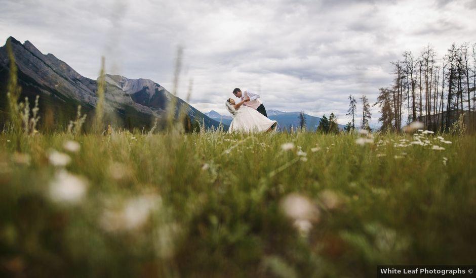 Beau and Miranda's wedding in Jasper, Alberta