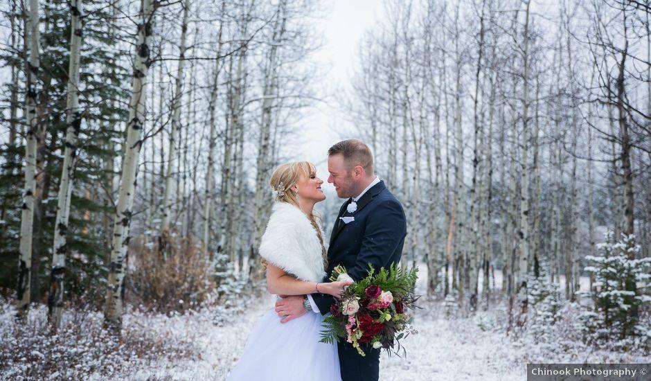 Mathew and Kaala's wedding in Canmore, Alberta