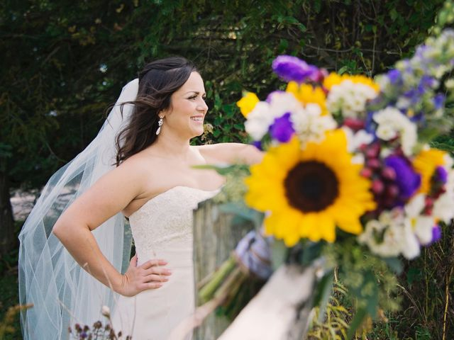 Brad and Laura's wedding in Newmarket, Ontario 1