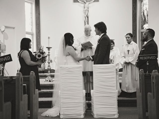 Brad and Laura's wedding in Newmarket, Ontario 2