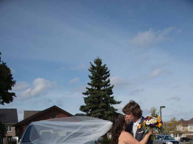 Brad and Laura's wedding in Newmarket, Ontario 4