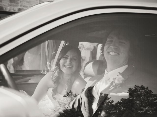 Brad and Laura's wedding in Newmarket, Ontario 5