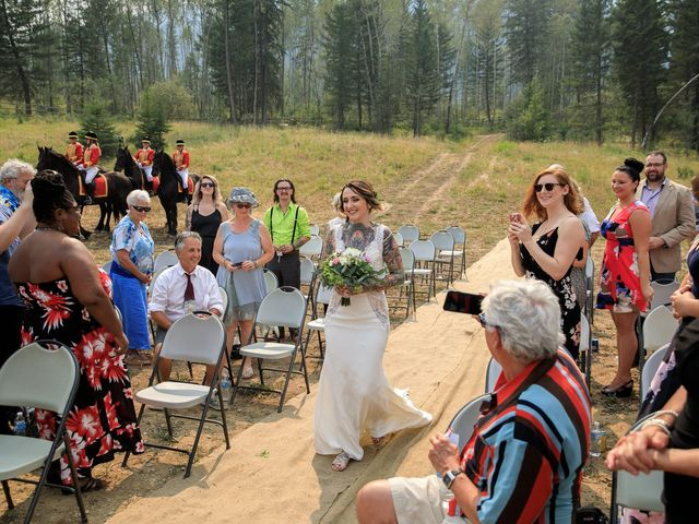 Edward and Andi's wedding in Invermere, British Columbia 27