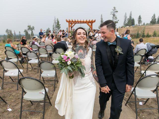 Edward and Andi's wedding in Invermere, British Columbia 30