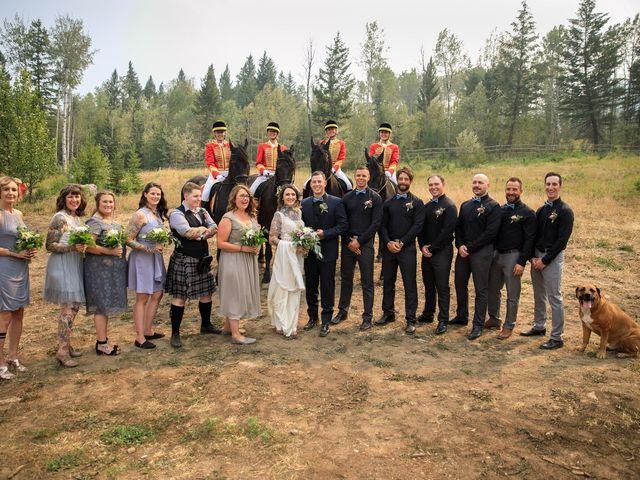 Edward and Andi's wedding in Invermere, British Columbia 33