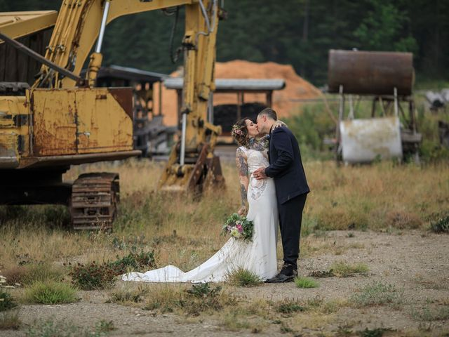 Edward and Andi's wedding in Invermere, British Columbia 34