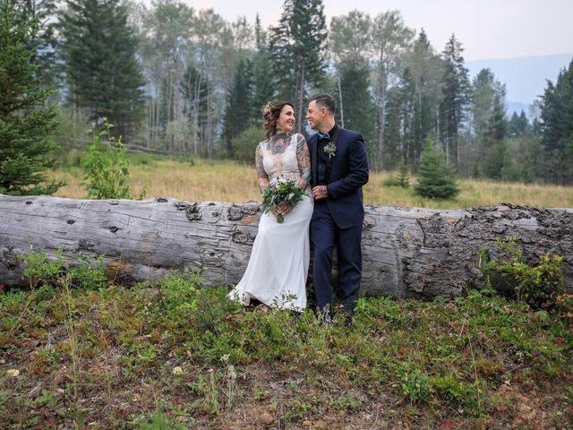 Edward and Andi's wedding in Invermere, British Columbia 38