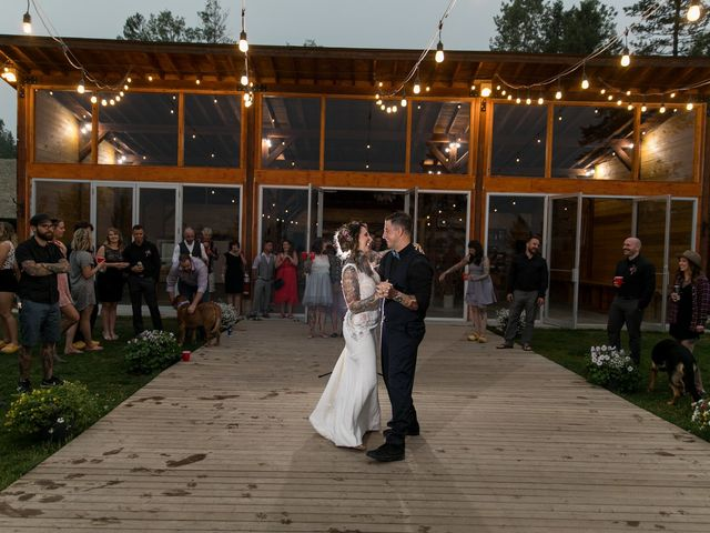 Edward and Andi's wedding in Invermere, British Columbia 44