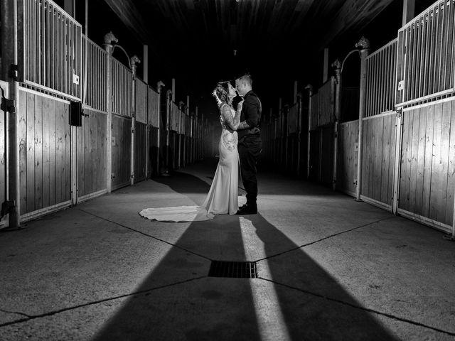 The wedding of Andi and Edward