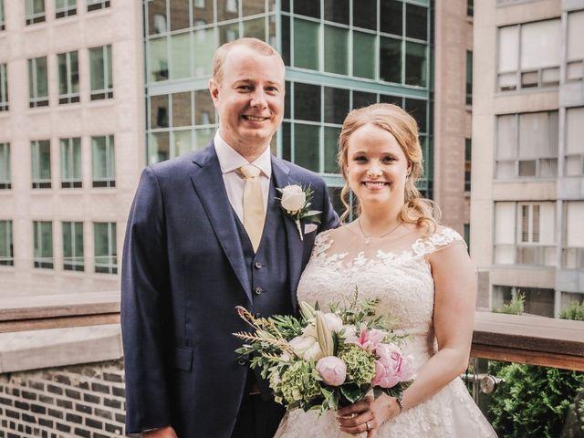 The wedding of Julia and Stephen