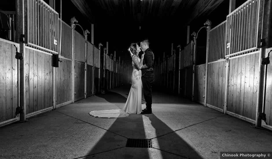 Edward and Andi's wedding in Invermere, British Columbia
