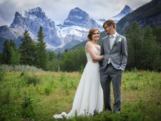 The wedding of Emma and Brent