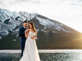 The wedding of Kelly and Jordan