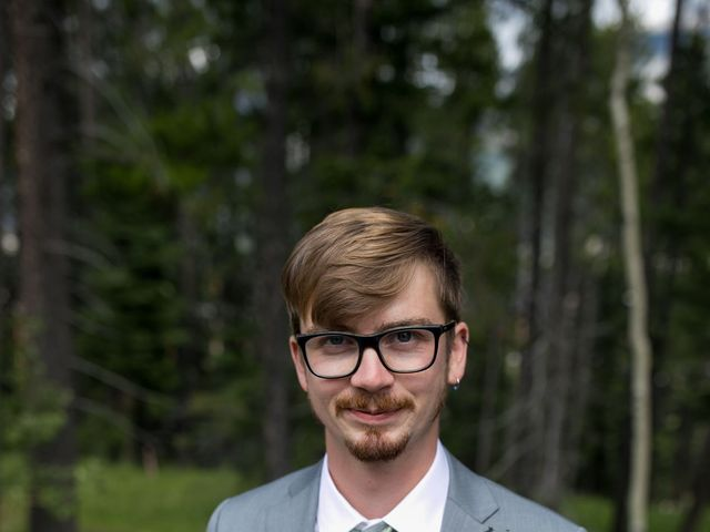 Brent and Emma's wedding in Canmore, Alberta 6