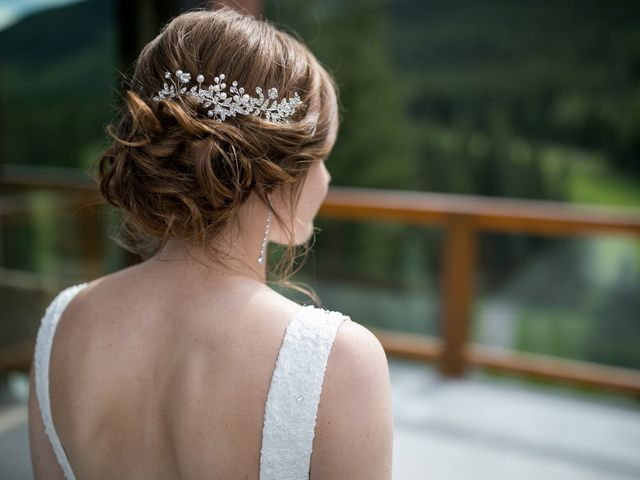 Brent and Emma's wedding in Canmore, Alberta 9