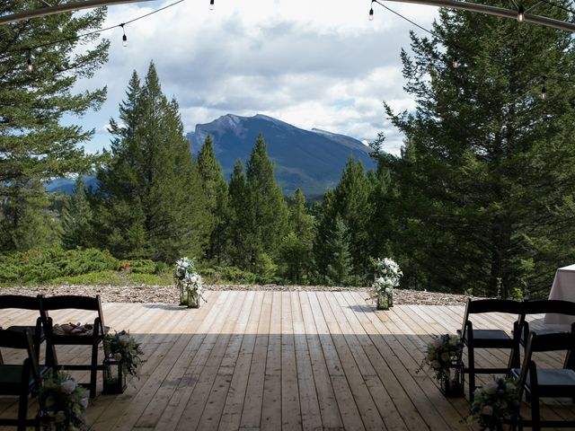 Brent and Emma's wedding in Canmore, Alberta 10